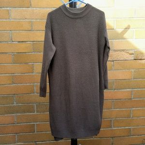 SUZY SHIER - Sweater Dress Olive